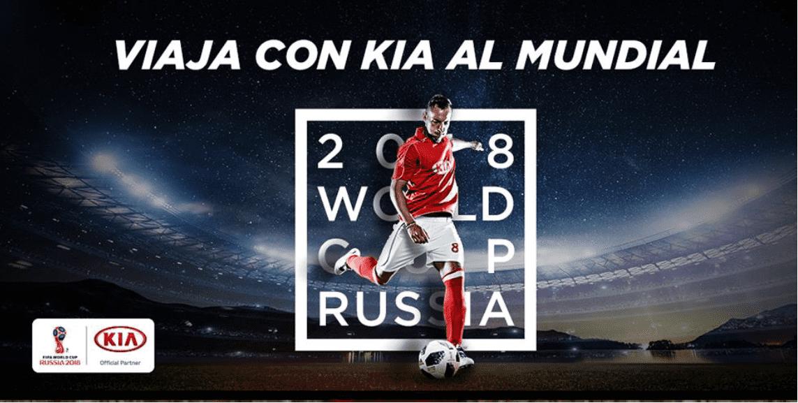 Viaja con KIA al mundial de Rusia 2018
