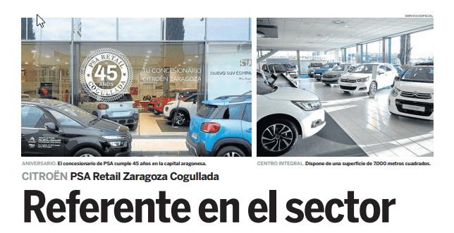 PSA Retail Zaragoza Referente en el Sector