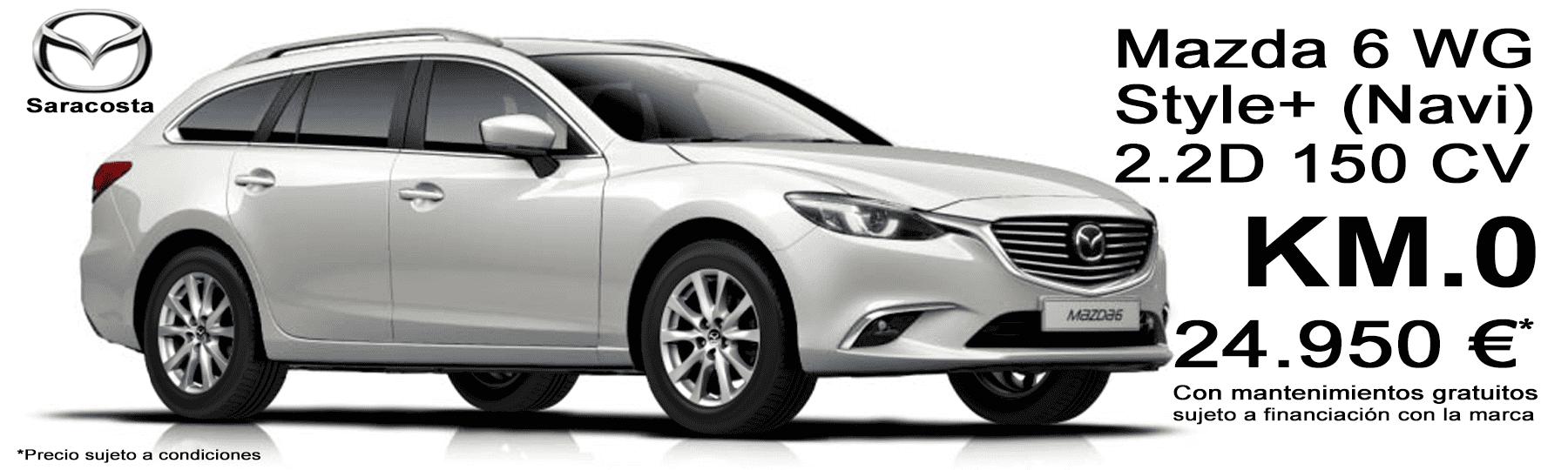 Mazda 6 Wagon 2.2d 150 cv Style+ Navi