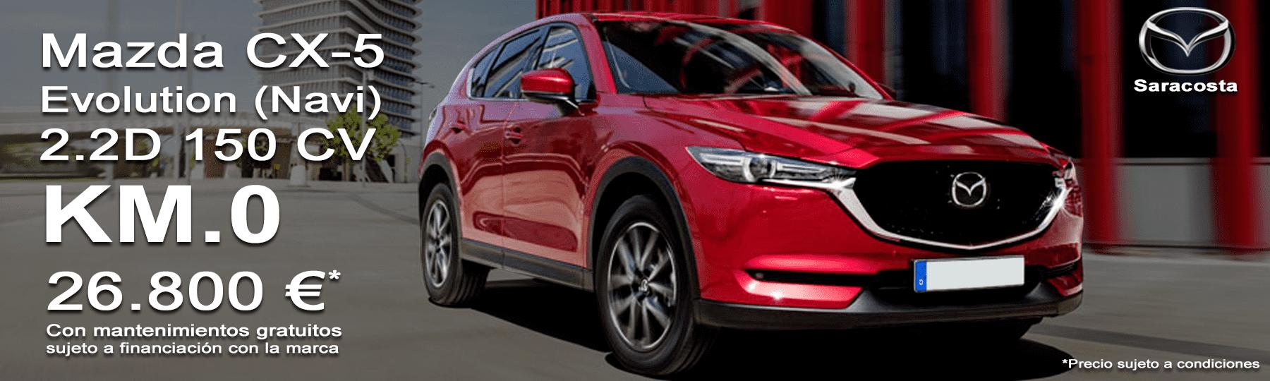 Mazda CX5 2.2d 150cv Evolution Navi Km.0