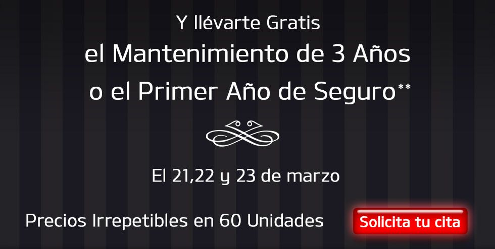 EVENTO VIP: PIDE TU CITA Y AHORRA HASTA 9.500€*