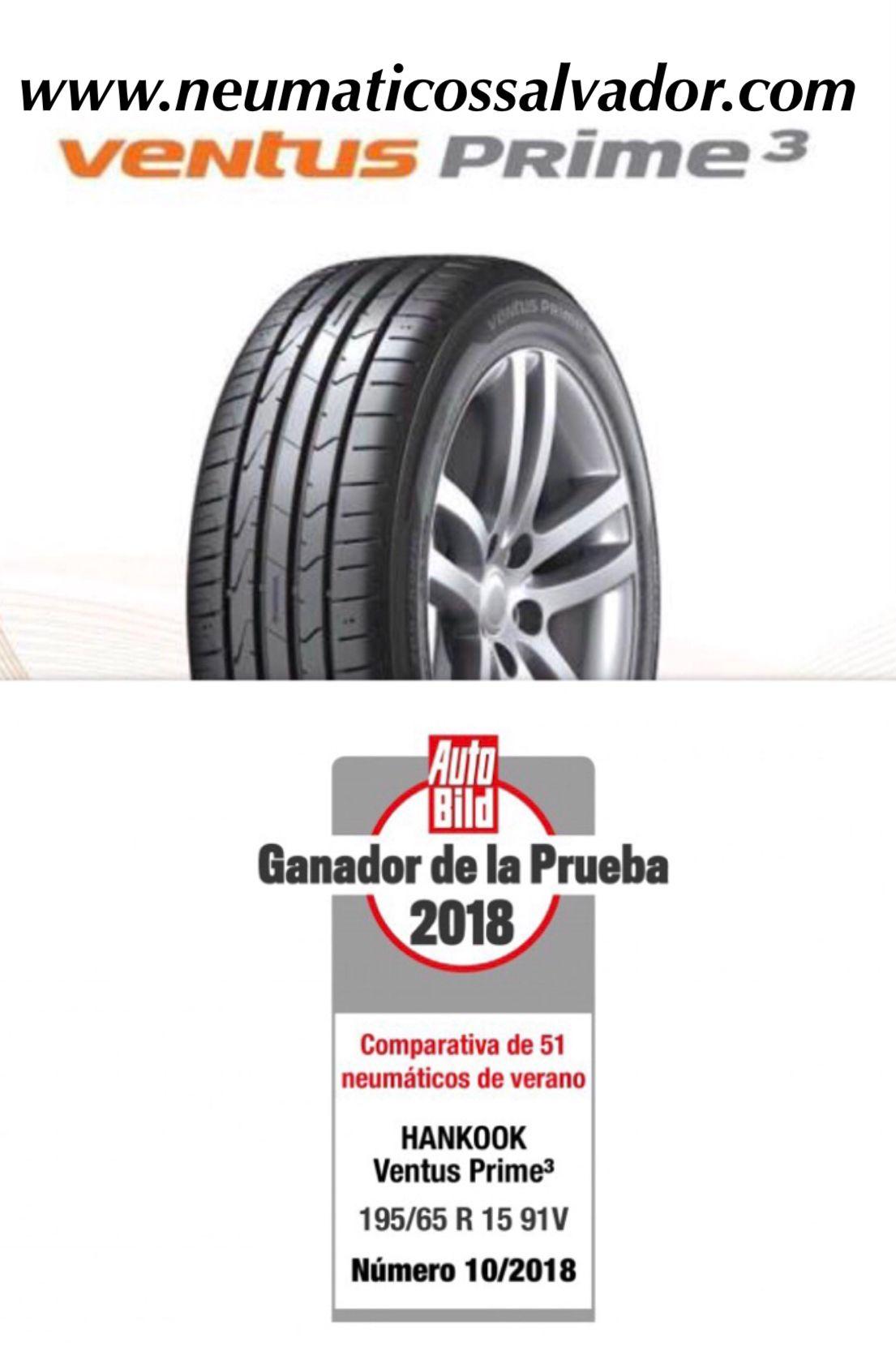 Hankook obtiene el primer puesto en la prueba de neumáticos de verano 2018 de Auto Bild