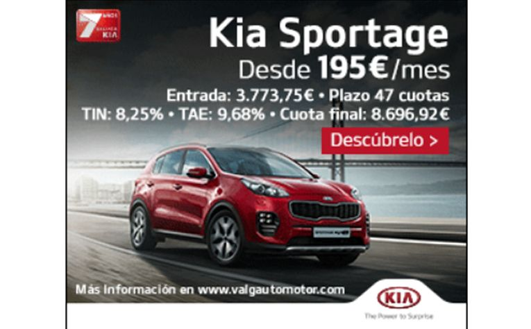 Kia Sportage al mejor precio