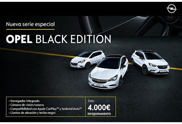 ''Black Edition'': modelos Opel con un estilo especial