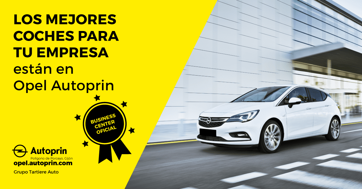 Tu empresa se merece lo mejor: se merece Opel