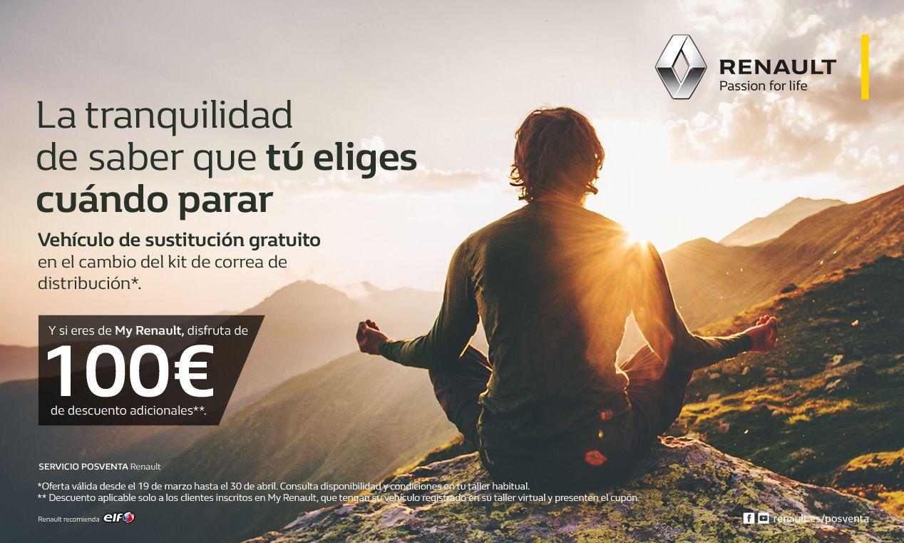 Oferta Kit de correa de distribución Renault