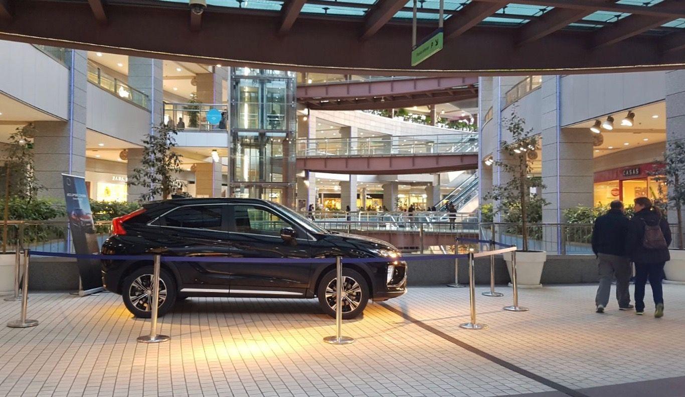 Mitsubishi Levante presenta el nuevo Eclipse Cross en el Centro Comercial Aqua