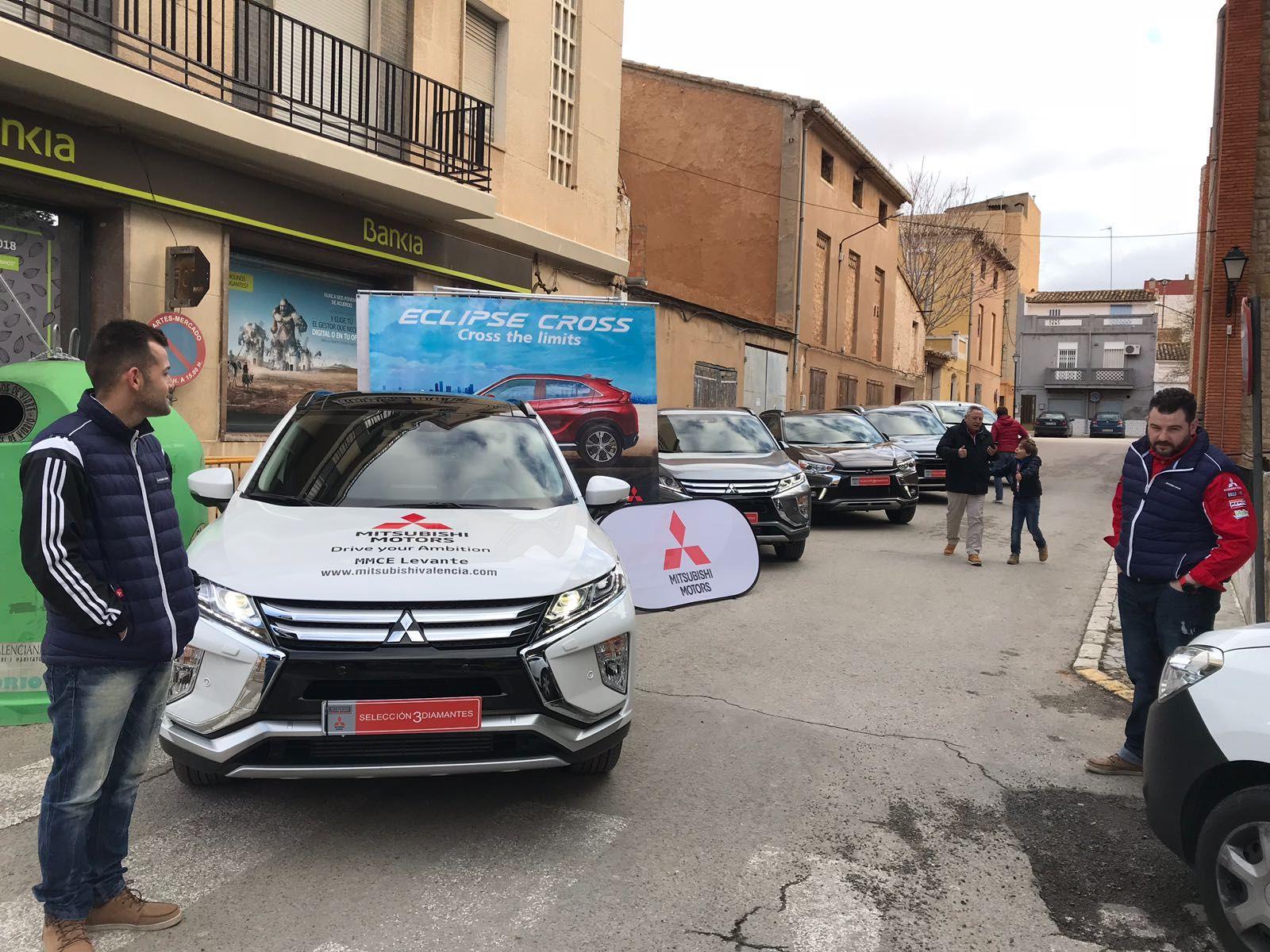 Mitsubishi Levante apoya la carrera 15K La Vega Tierra del Vino 2018