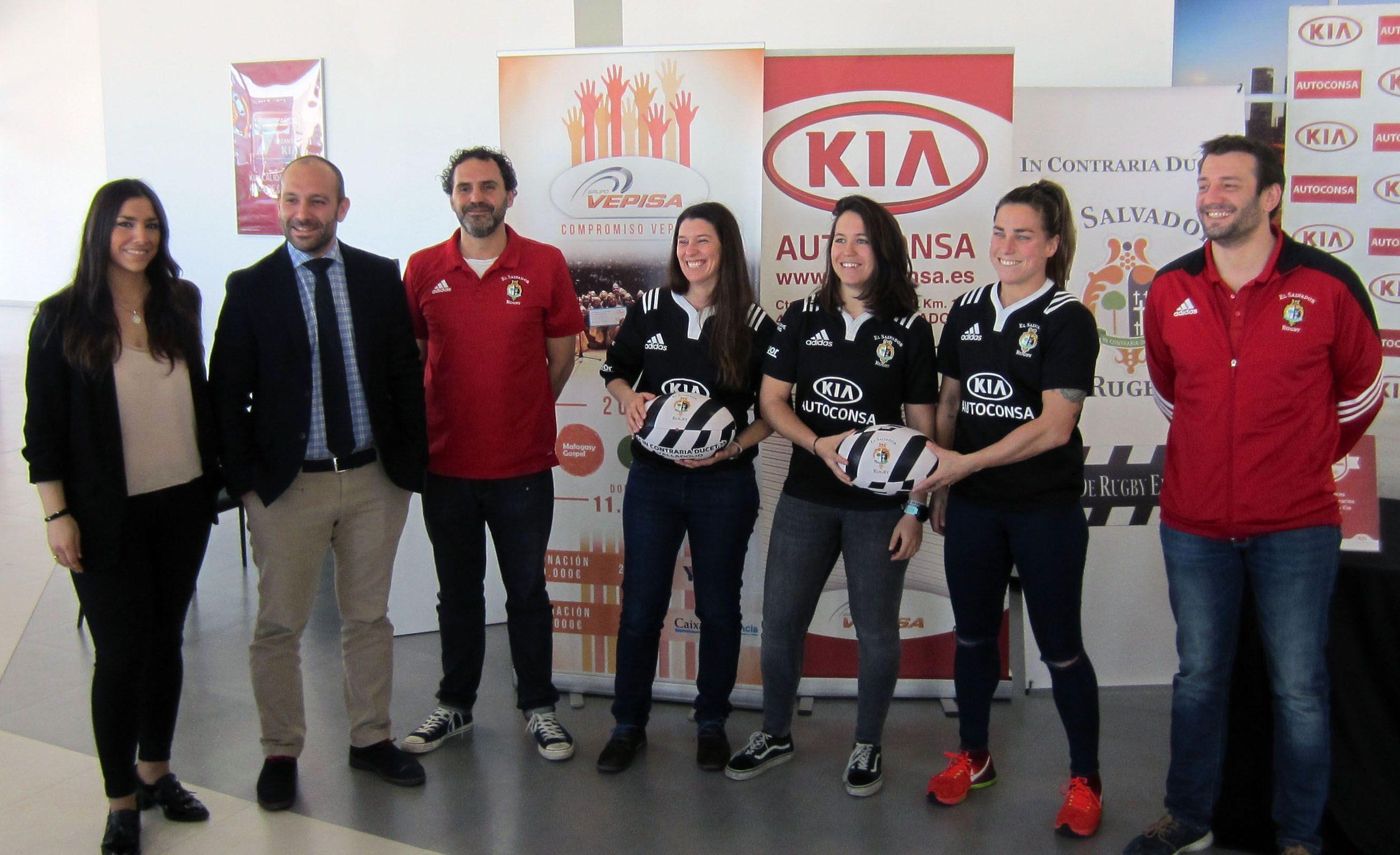 Autoconsa con el Equipo de Rugby Femenino El Salvador