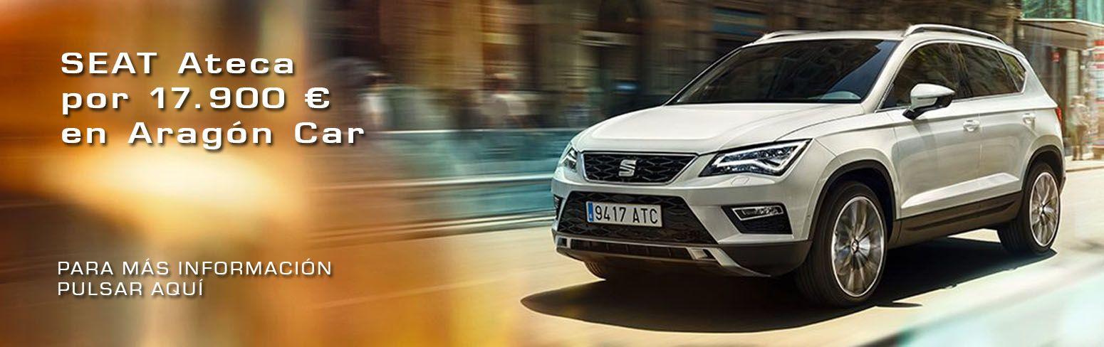 SEAT Ateca por 17.900 € en Aragón Car