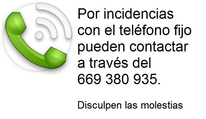 Fallo telefono