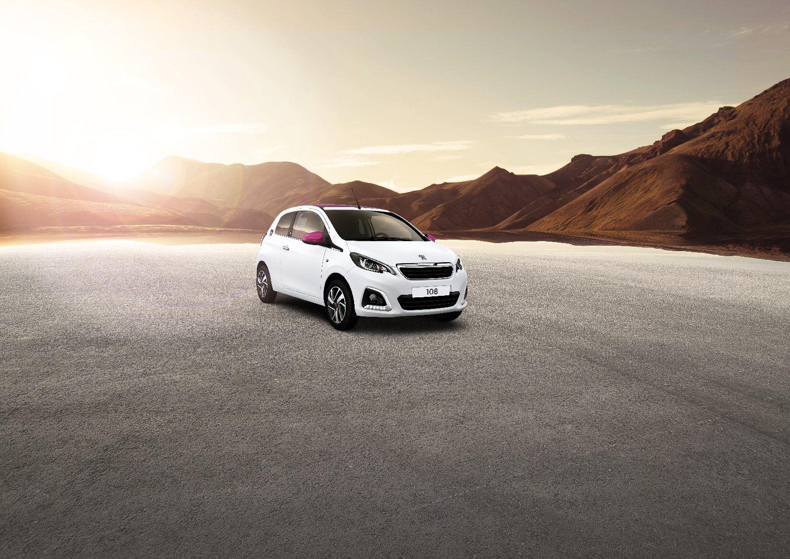 Más potencia y más tecnología para el Peugeot 108
