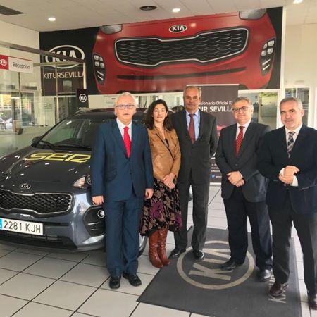 Kitur Sevilla entrega a la Cadena SER un nuevo vehículo para su unidad móvil