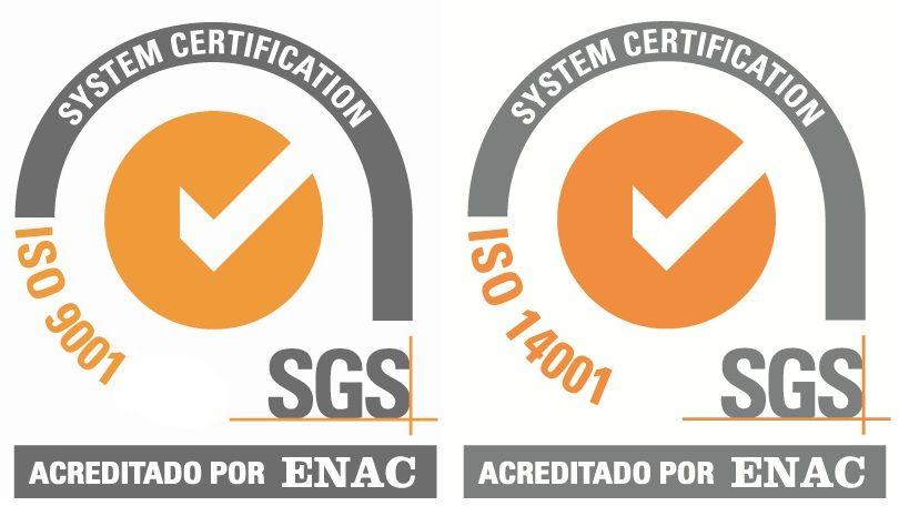 AUTORISA, empresa certificada en la ISO 9001:2015 y la ISO 14001:2015