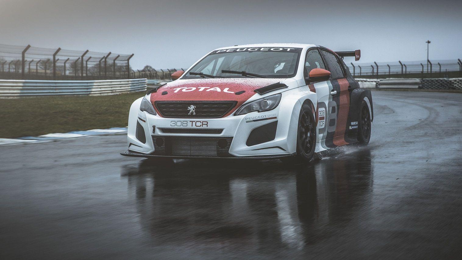 El Peugeot 308 TCR participará en el CER con los pilotos Gonzalo de Andrés y Enrique Hernando