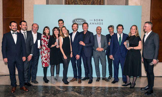 DESVELADOS LOS GANADORES DE LOS LAND ROVER BORN AWARDS 2018 EN ESPAÑA