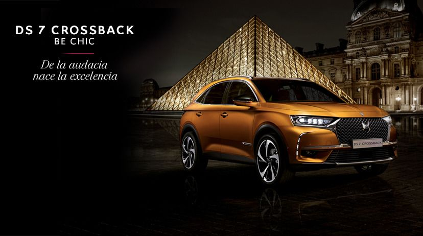 PACK BUSINESS: DS 7 CROSSBACK BlueHDi 130 Manual BE CHIC en RENTING POR416 €/mes