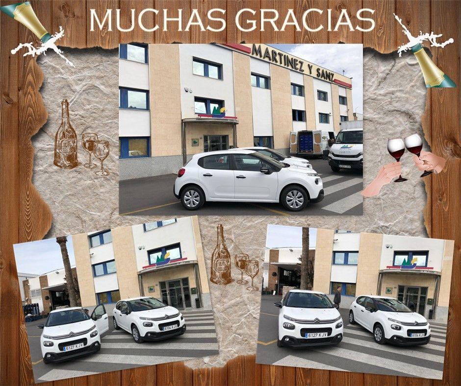 Agradecemos la confianza de la empresa Martinez y Sanz en Devesa Móvil Benidorm