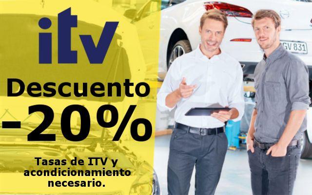 PRE-ITV GRATIS Y 20% DESCUENTO EN TASAS Y ACONDICIONAMIENTO