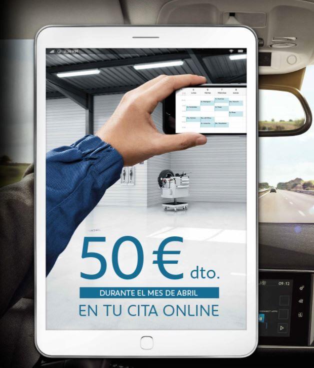 50€ DE DESCUENTO EN TU CITA ONLINE