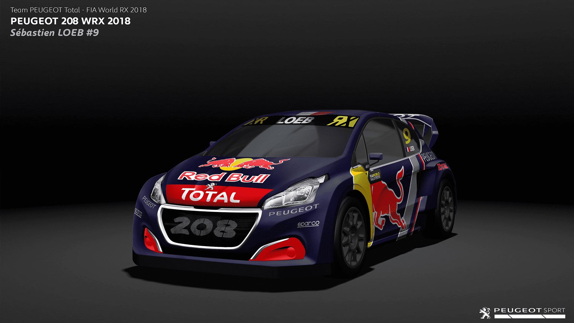 El Team Peugeot Total participa en el Campeonato del Mundo FIA de Rallycross