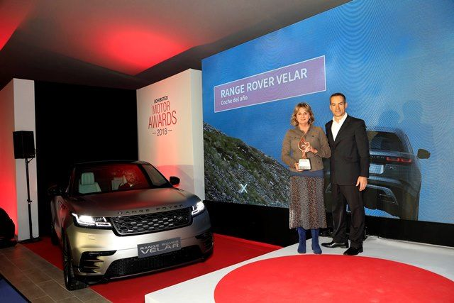 RANGE ROVER VELAR `COCHE DEL AÑO 2018´  SCHIBSTED MOTOR AWARDS DE COCHES.NET