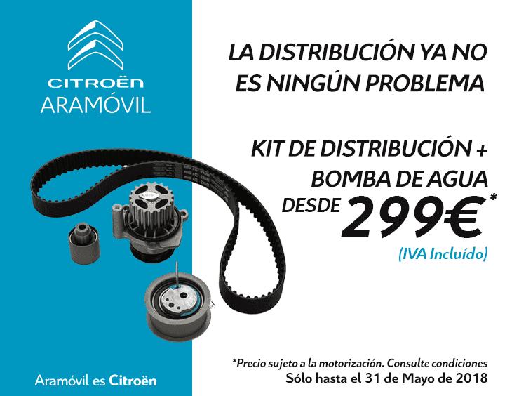 KIT DE DISTRIBUCIÓN + BOMBA DE AGUA DESDE 299€