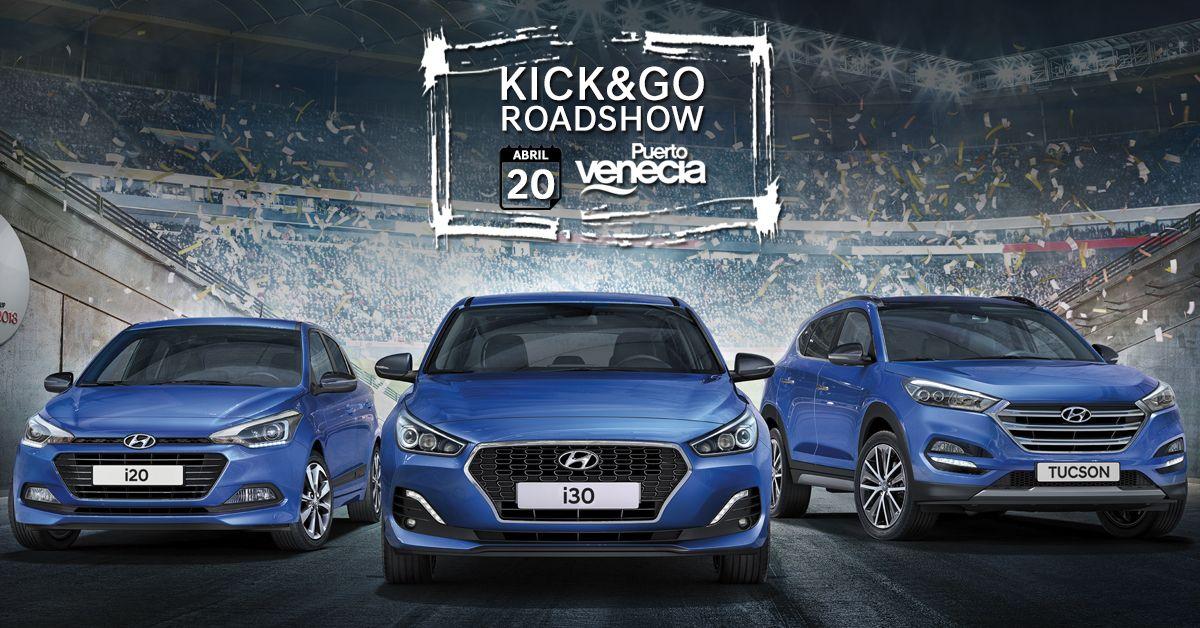 ¡El Kick&Go Roadshow llega a Puerto Venecia el 20 de Abril!