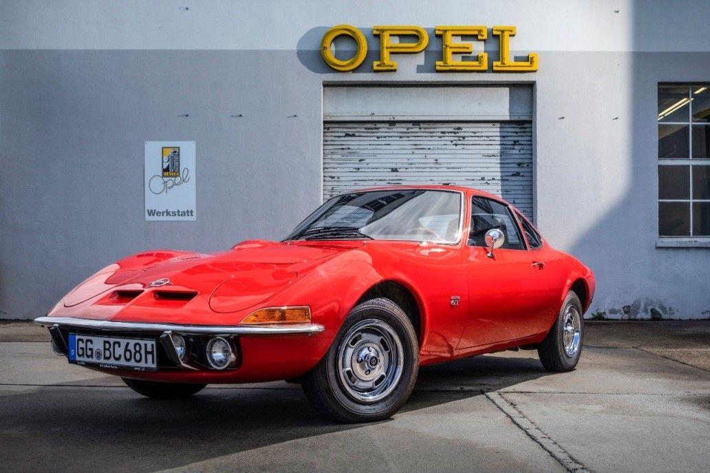 Los 50 años del Opel GT