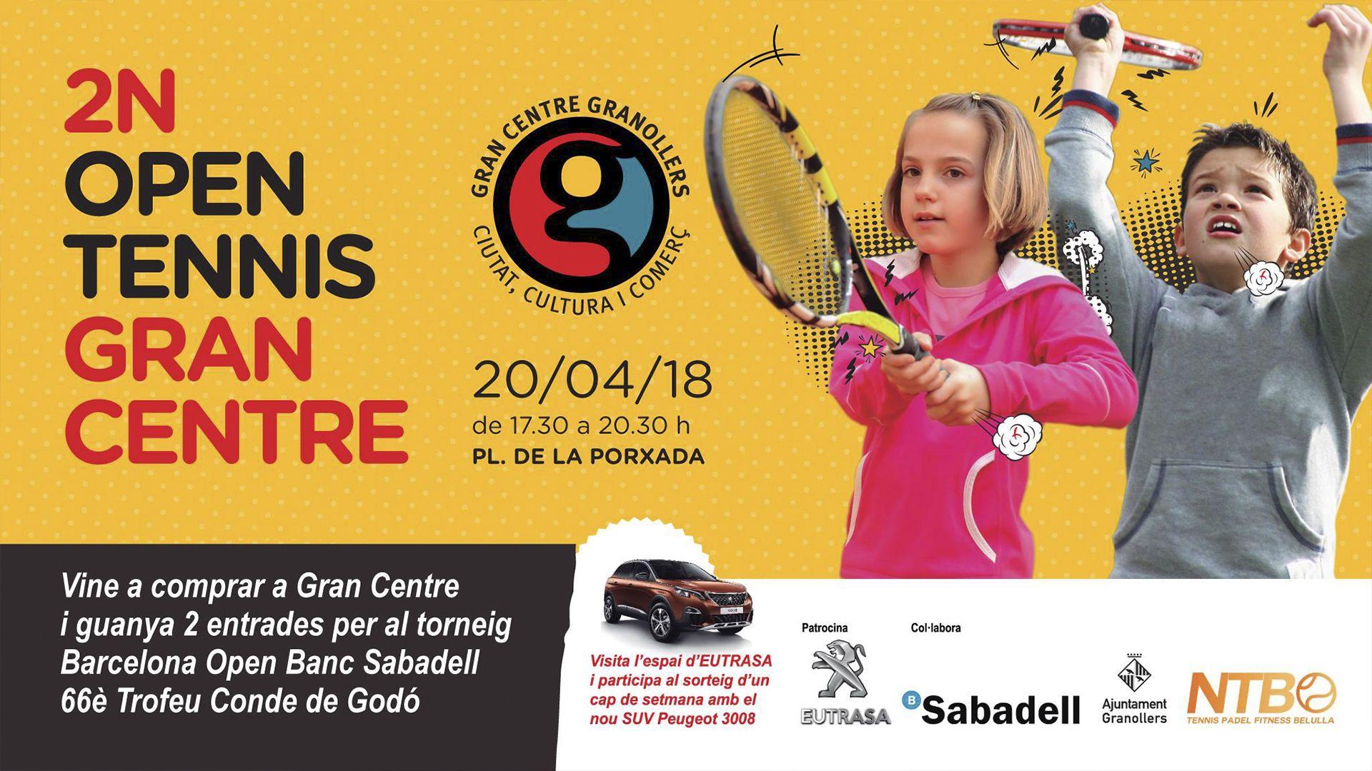 Eutrasa patrocina el 2n Open Tennis de Granollers
