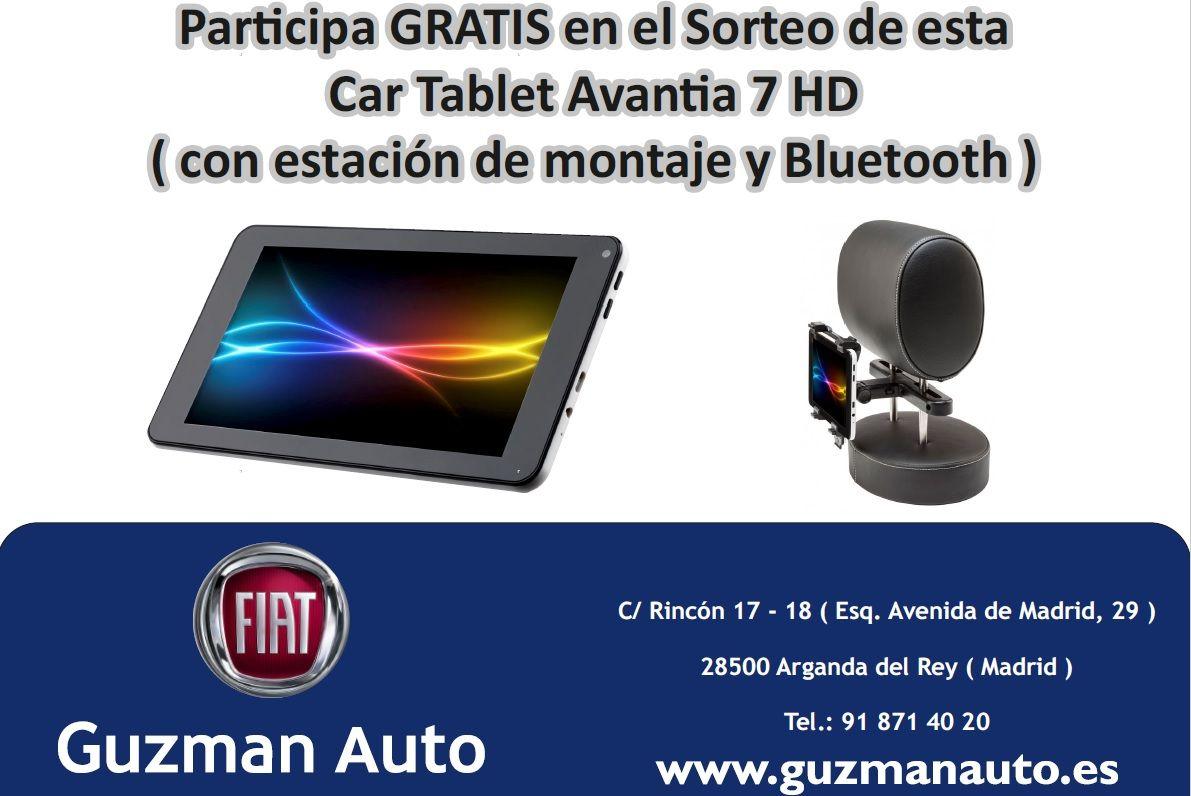 Ya tenemos ganador del sorteo de la Car Tablet Avantia 7HD