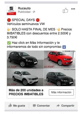 SPECIAL DAYS! Ofertas especiales VW Seminuevos solo hasta el 30-04-2018
