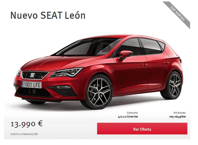Oferta Nuevo Seat Leon por 13.990€*
