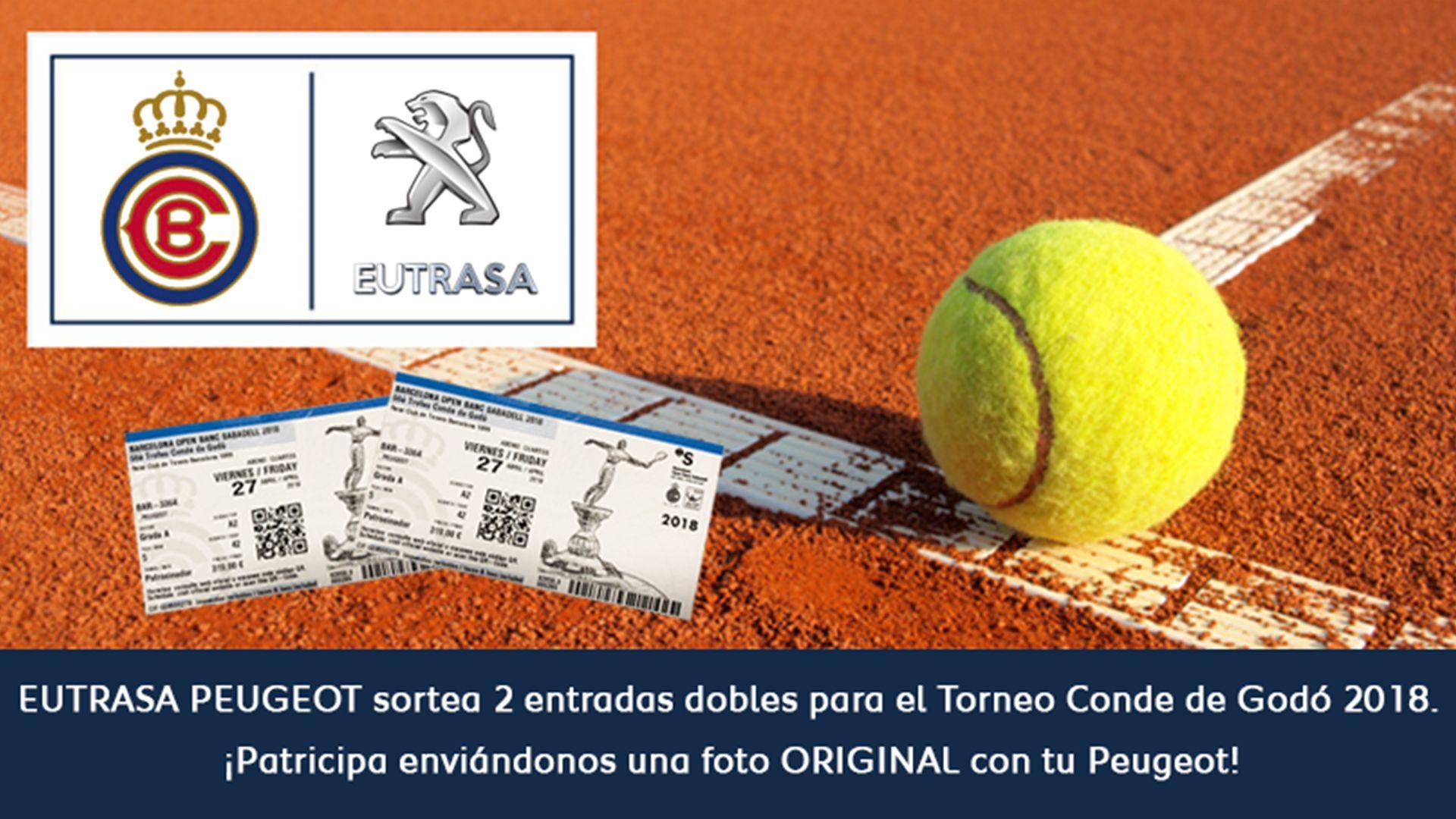 Sorteamos dos entradas dobles para el Torneo Conde Godó 2018