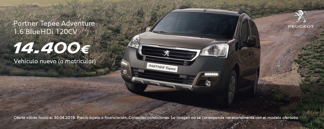 Peugeot Partner Tepee Adventure