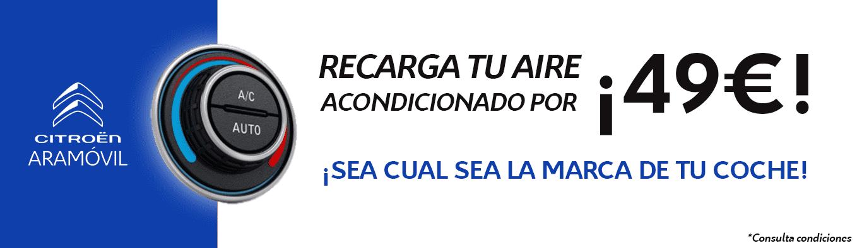 RECARGA EL AIRE ACONDICIONADO DE TU COCHE POR 49 EUROS