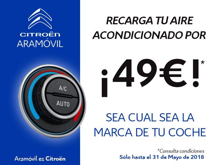 RECARGA DE AIRE ACONDICIONADO PARA TU COCHE POR 49 EUROS