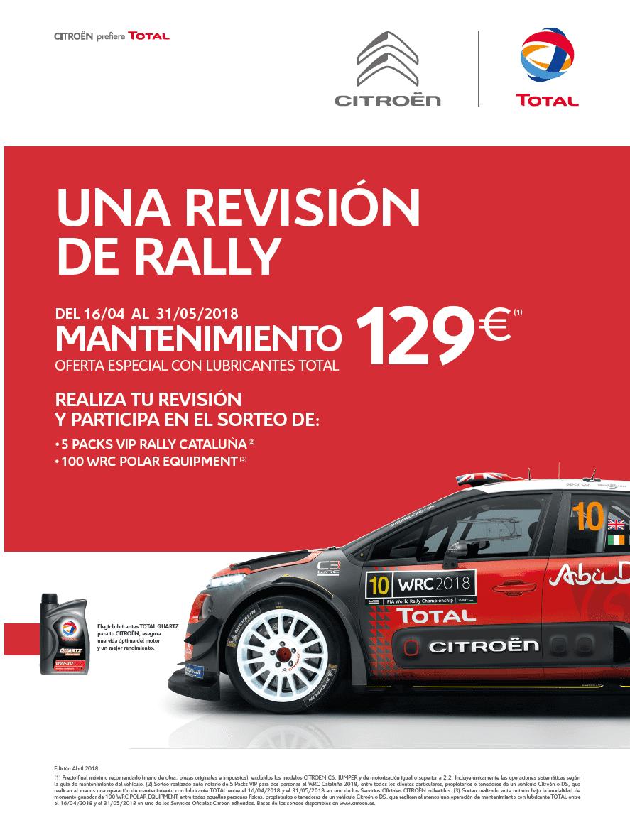 ¡La aventura del WRC llega A TALLER LA GUANCHA !
