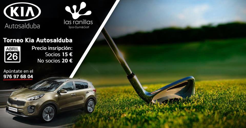El Torneo Kia Autosalduba tendrá lugar el 26 de Abril en Ranillas