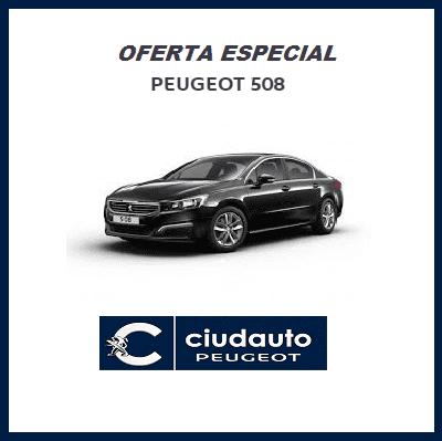 Peugeot 508 Active 1.6 BlueHDI 120 Negro Perla