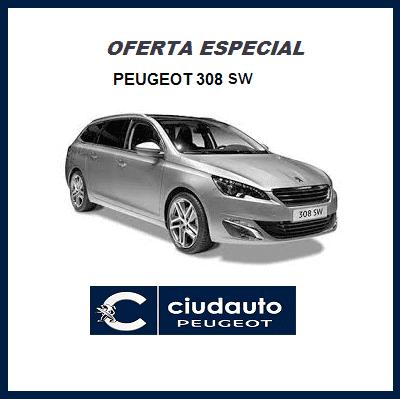 Peugeot 308 SW Active PureTech 130 S&S 6V Gris Artense
