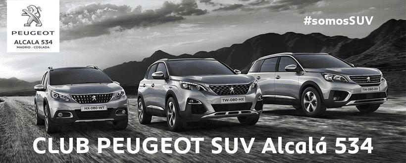 Nuevo Club Peugeot SUV Alcalá 534
