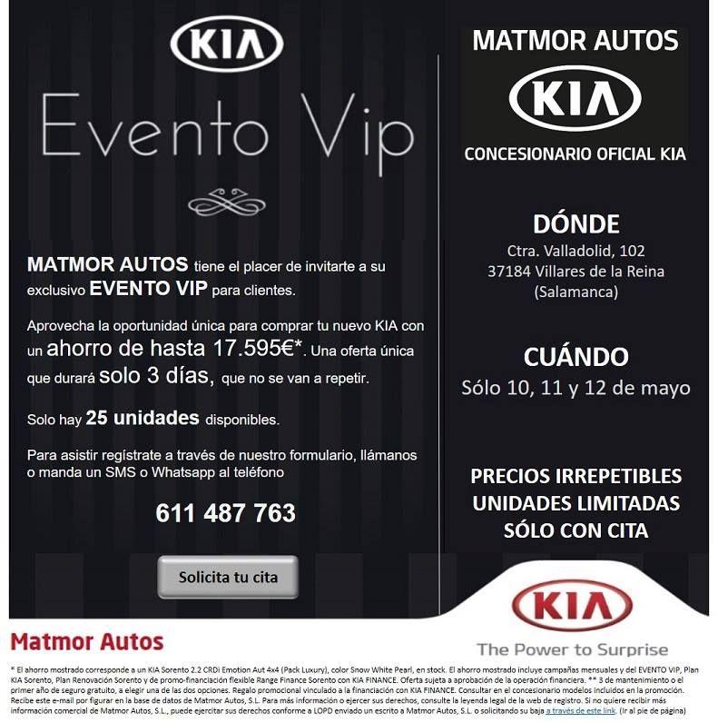 EVENTO VIP EN KIA MATMOR AUTOS