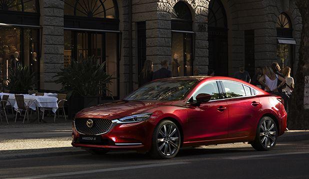 El Mazda 6 se renueva...¡por dentro y por fuera!