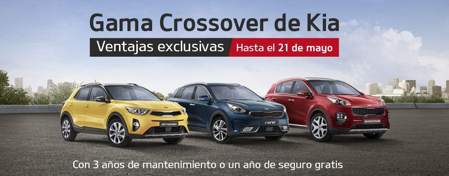 APROVECHA LAS VENTAJAS EXCLUSIVAS DE LA GAMA CROSSOVER DE KIA HASTA EL 21 DE MAYO