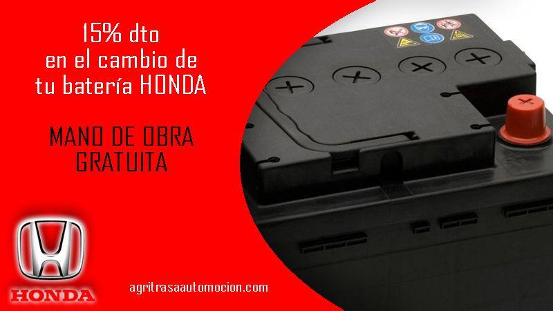 Descuento en tu batería Honda