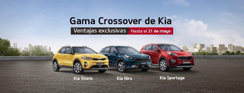Ventajas exclusivas en la Gama Crossover de Kia hasta el 21 de mayo