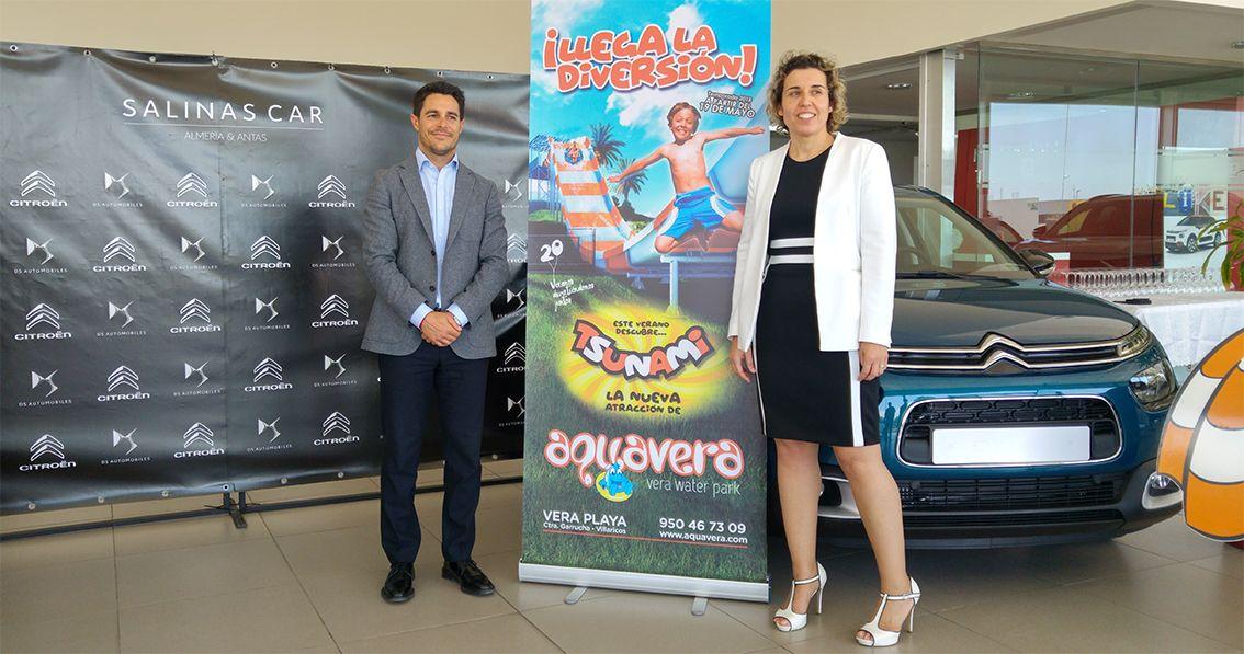 Salinas Car y Aquavera firman un acuerdo de colaboración