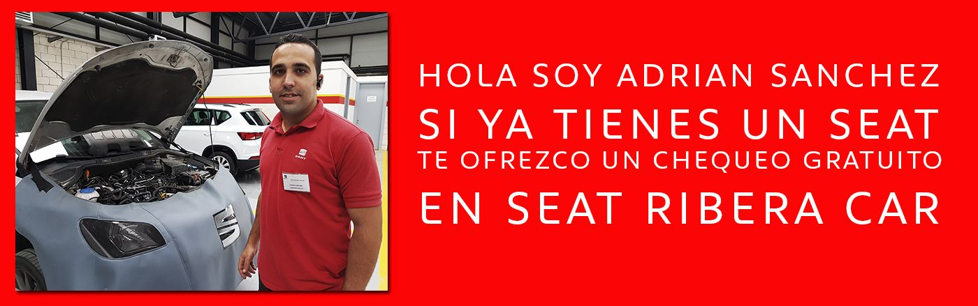 ESTE VERANO CHEQUEO GRATUITO EN SEAT RIBERA CAR