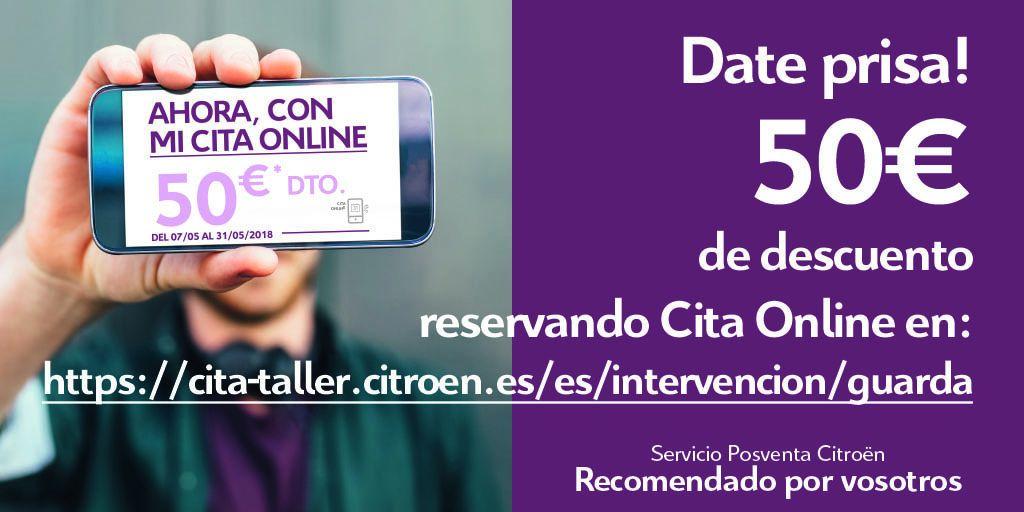 50€ de Dto. CITA ONLINE